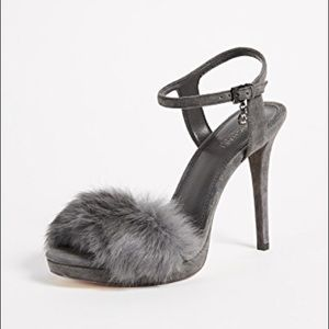 Michael Kors Fur Heels- Faye